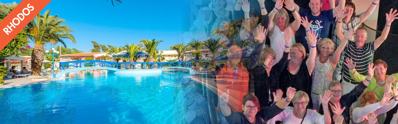 Singlerejser til Rhodos med Rikkes Rejser